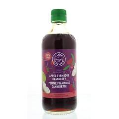 Your Organic Nat Diksap appel framboos cranberry (400 ml)