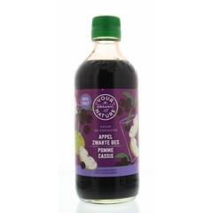 Your Organic Nat Diksap appel zwarte bes (400 ml)