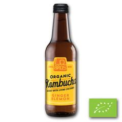 Lo Bros Kombuch ginger & lemon (330 ml)