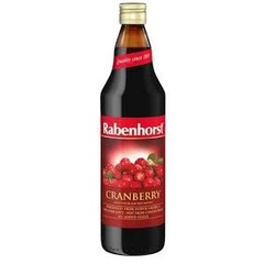 Rabenhorst Cranberrysap puur (750 ml)