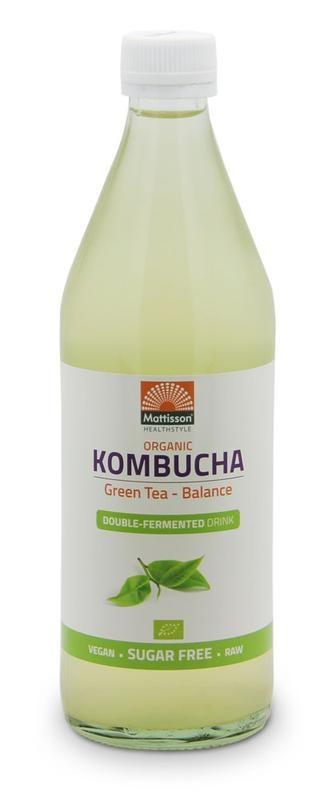 Mattisson Mattisson Kombucha green tea - balance (500 ml)