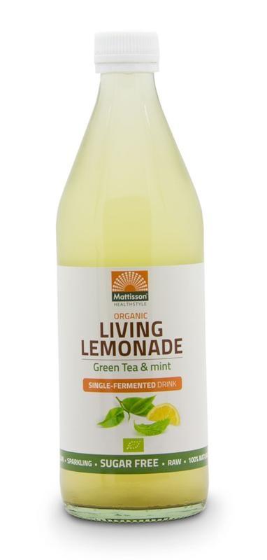 Mattisson Mattisson Living lemonade green tea mint (500 ml)