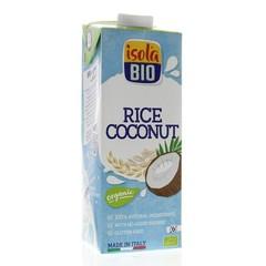Isola Bio Rijstdrank kokosnoot (1 liter)