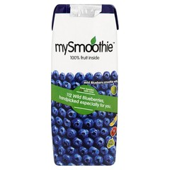 Mysmoothie Blauwe bessen (250 ml)