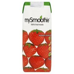 Mysmoothie Aardbei (250 ml)