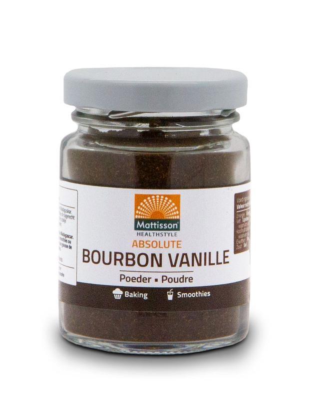 Mattisson Mattisson Bourbon vanille poeder (30 gram)