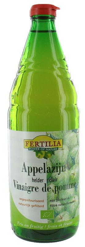 Fertilia Fertilia Appelazijn helder bio (750 ml)