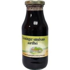 Groninger Smulsaus aardbeien (250 ml)