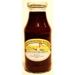 Groninger Smulsaus frambozen (250 ml)