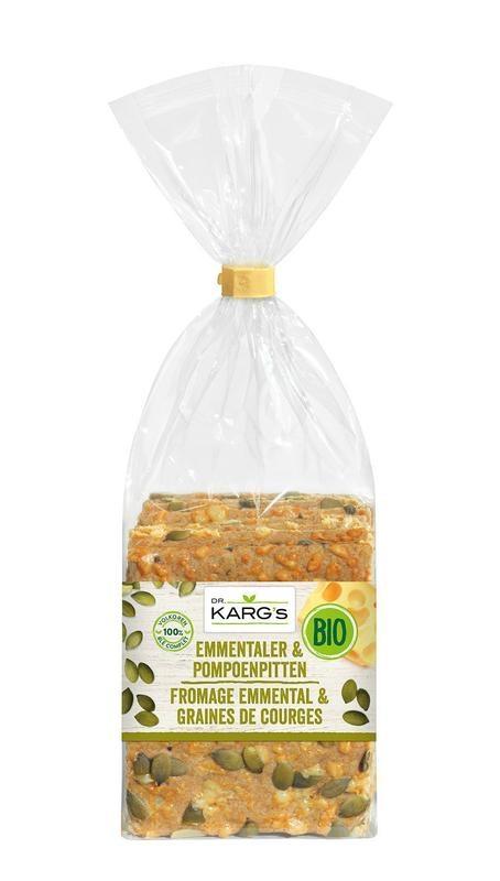Dr Karg Dr Karg Kaas met pompoenpit (200 gram)