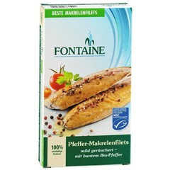 Fontaine Makreelfilet met pepers (190 gram)