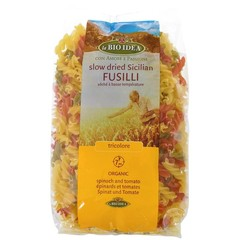 Bioidea Fusilli tricolore spirelli (500 gram)