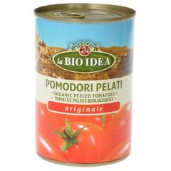 Bioidea Tomaten gepeld (blik) (400 gram)