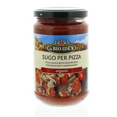 Bioidea Pizzasaus champignons (300 gram)