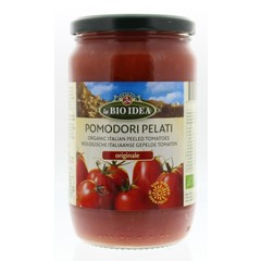 Bioidea Tomaten gepeld (glas) (660 gram)