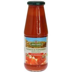 Bioidea Passata gezeefde tomaten (680 gram)