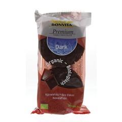 Bonvita Rijstwafels pure chocolade (100 gram)