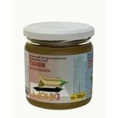 Monki Tahin zonder zout eko (330 gram)