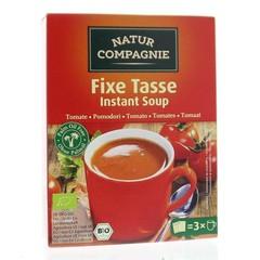 Natur Compagnie Fixe tasse instant soep tomaat (60 gram)