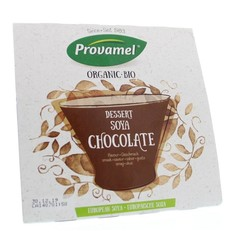 Provamel Dessert choco rietsuiker 125 gram (4 stuks)