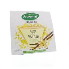 Provamel Dessert vanille rietsuiker 125 gram (4 stuks)