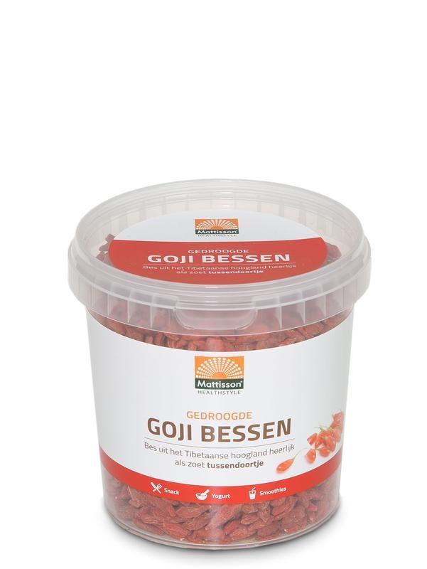 Mattisson Mattisson Bessen goji gedroogd pot (350 gram)