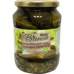 Bionova Augurken zoet zuur (670 gram)