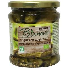 Bionova Augurken zoet zuur (330 gram)