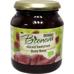 Bionova Rode bieten gesneden (340 gram)