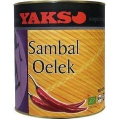Yakso Sambal oelek (3250 gram)
