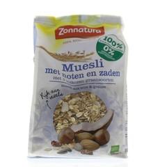 Zonnatura Muesli noten zaden bio (375 gram)