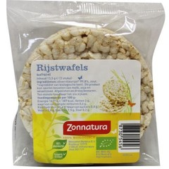 Zonnatura Rijstwafels naturel duo (13.5 gram)