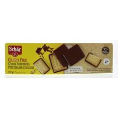 Dr Schar Butterkeks (biscuit) chocolade (130 gram)