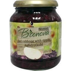 Bionova Rode kool appel (340 gram)