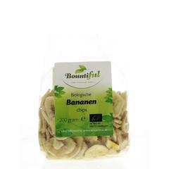 Bountiful Bananen chips bio (200 gram)