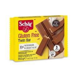 Dr Schar Twin bar 3-pack (64.5 gram)