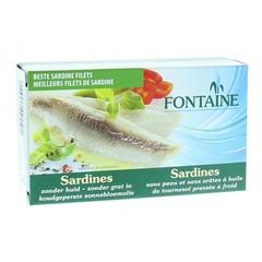Fontaine Sardines zonder huid en graat (120 gram)