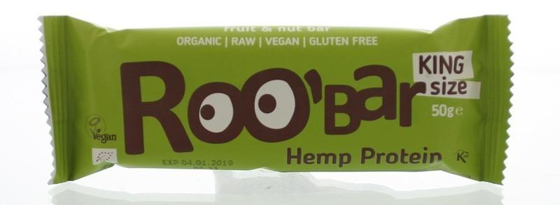 Roo Bar Roo Bar Hemp proteine bar (50 gram)