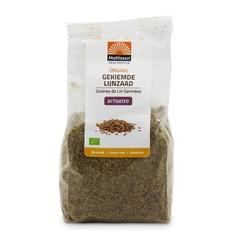 Mattisson Organic gekiemde lijnzaad gemalen omega 3 (180 gram)
