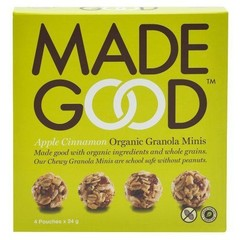 Made Good Granola minis apple cinnamon 24 gram (4 zakjes)
