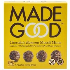 Made Good Granola minis chocolate banana 24 gram (4 zakjes)