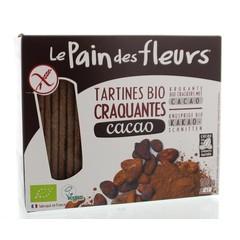 Pain Des Fleurs Cacao crackers (160 gram)