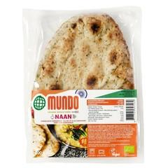 O Mundo Naanbrood knoflook / koriander (240 gram)