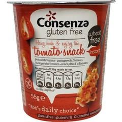 Consenza Instant macaroni met tomaat (55 gram)