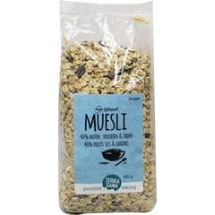 Terrasana Muesli 40% noten & vruchten & zaden (450 gram)