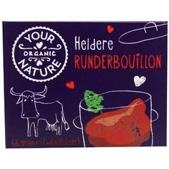 Your Organic Nat Runderbouillon helder zonder gist (66 gram)
