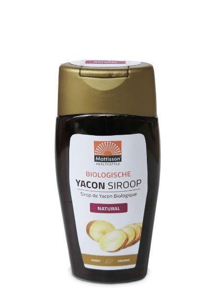 Mattisson Mattisson Yacon siroop bio (250 ml)