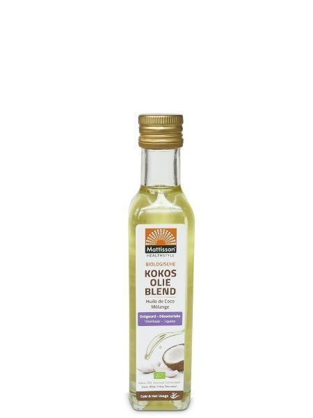 Mattisson Mattisson Kokosolie blend ontgeurd bio (250 ml)
