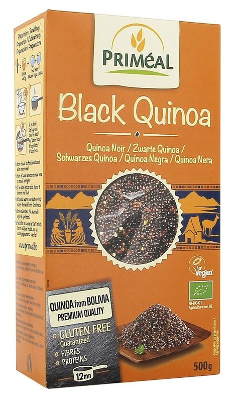 Primeal Primeal Quinoa black (500 gram)