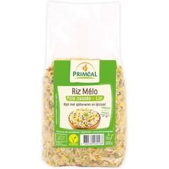 Primeal Rijst met spliterwten en lijnzaad (500 gram)